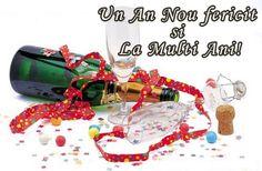 Urare Un An Nou Fericit si La Multi Ani