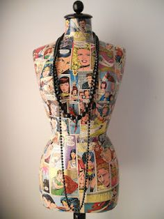 Mannequin New York / Manniqui Nueva York Dress Form Mannequin, Vintage Mannequin, Mannequin Heads, Simple Dresses, Nice Dresses, Recycled Dress, Dress Card, Diy Sewing Projects, Doll Crafts