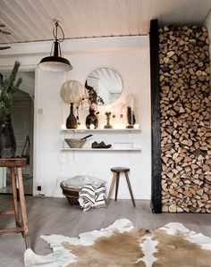 As long as those Logs are for use, not for Style.