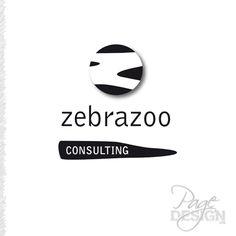 Zebrazoo Consulting logo Consulting Logo, Page Design, Graphic Design, Logos, Logo, Visual Communication
