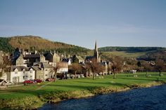 Peebles by the river in the Scottish Borders. Sainsbury's at Northgate is a Patépaté stockist.