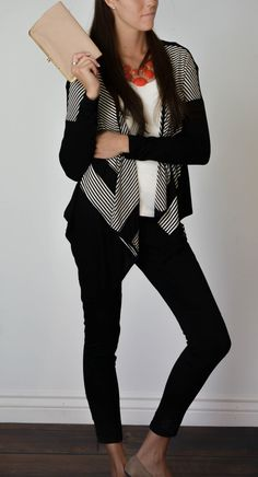 Michelle Draped Cardigan | SexyModest Boutique