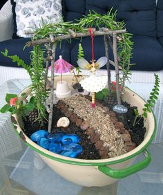MAY DAYS: Fairy Day Garden