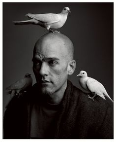 """kvetchlandia: """" Mark Seliger Michael Stipe, Los Angeles 1994 """"If I'm tired of me, I'm sure the public is as well. Mary Ellen Mark, Michael Stipe, White Photography, Portrait Photography, Musician Photography, Monochrome Photography, Mark Seliger, Silly Photos, Interview"""