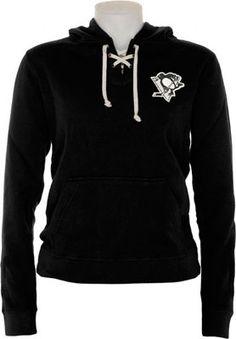 Pittsburgh Penguins Women s Queensboro Lace Hooded Sweatshirt Boston Bruins  Hockey 1d84e227b