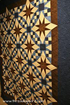 """Galaxy"" ~ Love this pattern by Deb Tucker!"