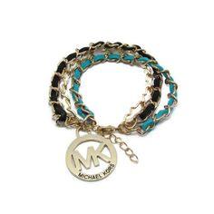 Michael Kors Big Logo Charm Multicolour Bracelets