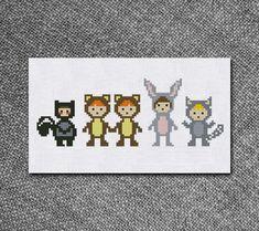 Cross Stitch Pattern Boys from Peter Pan Instant by Kiokiz on Etsy