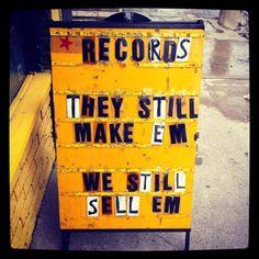 Records: They still make 'em.