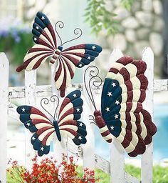 Happy July 4th, 2012: American Flag Home Decor