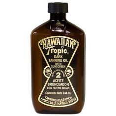 Hawaiian Tropic Dark Tanning Oil - what a scent!!