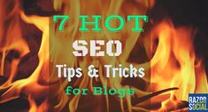 Here are 7 SEO tips and tricks for blogs that will help you get more traffic to…