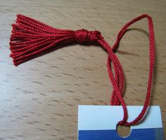 How to Make a Bookmark Tassel (with Pictures) - wikiHow