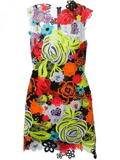 Christopher Kane Floral Guipure Lace Dress | Clothing