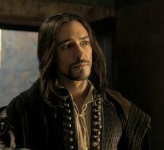 Blake Ritson as Count Riario in DaVinci's Demons.