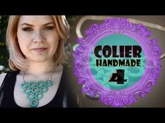 Cum sa faci un colier 4 Turquoise Necklace, Youtube, Diy, Handmade, Jewelry, Do It Yourself, Hand Made, Jewellery Making, Jewerly