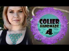DIY: Colier handmade 4 (Tutorial) [RO] - YouTube