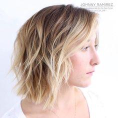Blonde Balayage Shag