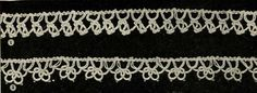 4806 Vintage Tatting PATTERN for Tatted Edges by BlondiesSpot, $1.99