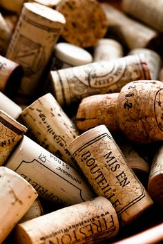 corks are beautiful and interesting