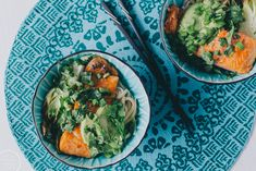 noodle bowl with salmon / Hannan soppa