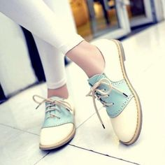 retro vintage oxfords