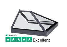 Glass to glass roof lantern rooflight and skylights for flat roof applications. Glass Extension, Roof Lantern, Glazing Techniques, Ral Colours, Roof Light, Safety Glass, Glass Roof, Roof Design