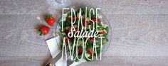 Bonjour Darling - Blog Illustration, Cuisine et DIY Bordeaux: Douce Salade Fraise x Avocat