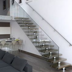 Contemporary Staircases for Modern Minimalist House by Faraone