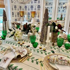 """Shelley Johnstone Paschke's Instagram post: """"Merry Merry from my table to yours. Wishing everyone a healthy, happy and joyous holiday🌲🦌🌲 #shelleyjohnstonedesign #grateful"""""""