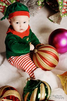 Creative Christmas Portrait Baby Dallas Fort Worth Photography (600×900)