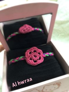 Bracelet crocheted