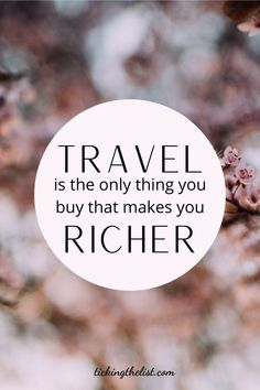 Inspire yourself today with this long list of wanderlust travel quotes I've put togehter for you.