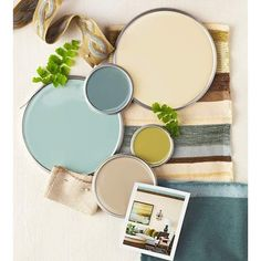 Interior Color Schemes ❤ liked on Polyvore featuring backgrounds and paint colors