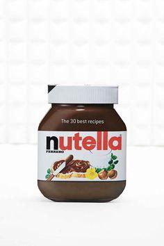 Livre des 30 meilleures recettes au Nutella
