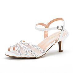 Dream Pairs Women's Nina-166 White Low Heel Pump Sandals ... https://www.amazon.com/dp/B01N54W1N9/ref=cm_sw_r_pi_dp_x_J8mhAb01FGZEA