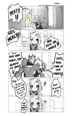 Protect the Mercy! | Overwatch | Know Your Meme \ see, this is the kinda stuff I wanna encounter on Overwatch, not Salt/Toxin Incarnate.