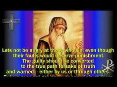 + Teaching of Saint Anthony the Great + Greek Orthodox chant