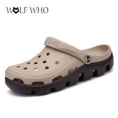 Unisex Casual Solid Soft Mules Clogs Sandals Beach Slipper Shoes