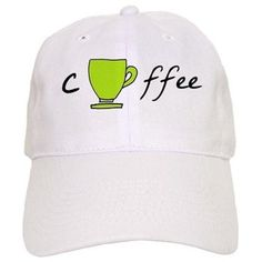 Coffee Mug Green Round Baseball Cap