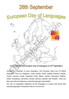 Comprehension Exercises, Reading Comprehension Worksheets, English Lessons For Kids, Esl Lessons, Language Activities, Writing Activities, European Day Of Languages, Esl Lesson Plans, British Schools