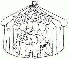 circus tent coloring pages Drawing For Kids, Art For Kids, Crafts For Kids, Arts And Crafts, Colouring Pages, Coloring Sheets, Full Hd Wallpapers, Circus Crafts, Circus Theme