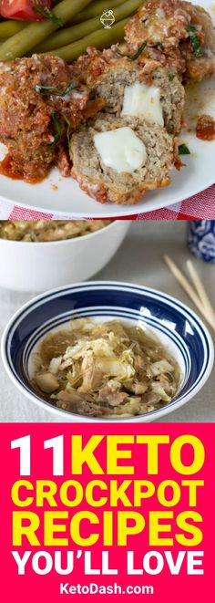 Crockpot recipes don't have to be difficult, especially when you're on a diet. These 11 keto crockpot recipes are made to help everybody through the keto lifestyle.