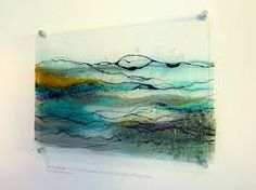 Image result for glass panel wall art