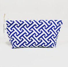 Greek Key Stripe Toiletry Bag  http://ift.tt/1LMhqo9  #cosmeticpouch #toiletrybag #doppbag #greek #etsy #etsyshop #fireboltcreations #greekkey #etsyfinds #firebolt #etsyseller #stripe  #shoplocal #maker #stripes #blue #blueandwhite #geometric #gift #giftideas #gifts #handmade #accessory #zipperbag #zipperpouch #design #graphic #shopping #travel