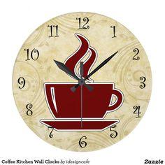 40 Stylish Fun Kitchen Clocks Ideas Kitchen Clocks Clock Wall Clock