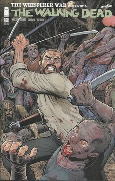 The Walking Dead comic issue 160 Limited variant