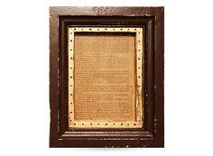 Frame No.56 -Brown × Gold-
