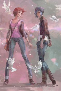 LIFE IS STRANGE by whiskypaint.deviantart.com on @DeviantArt -
