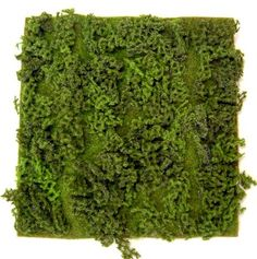 """Could cut a piece to fit the top opening of the long rectangle vase and cut holes for the stems of the flowers to be inserted.    Artificial Moss Sheet 14"""" x 14"""" - $11.99"""